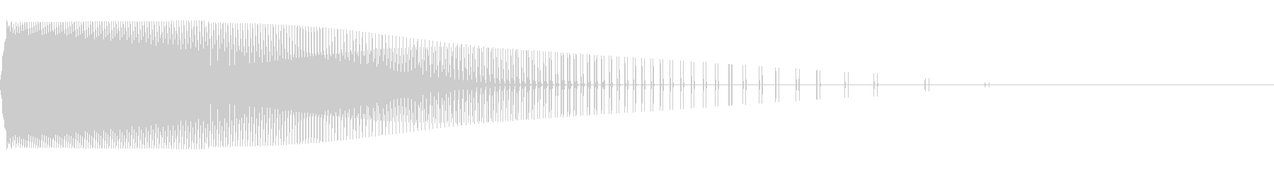 ピュー(弾/発射/ファミコン/攻撃の未再生の波形