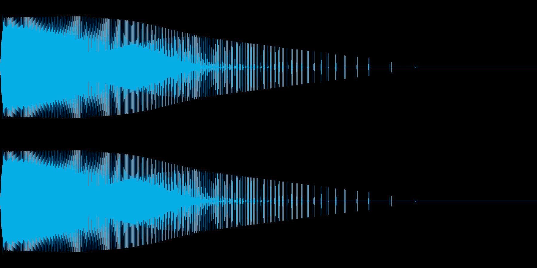 ピュー(弾/発射/ファミコン/攻撃の再生済みの波形