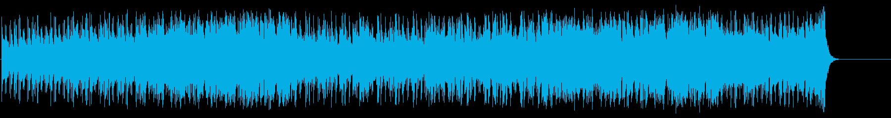 爽快感満点のフュージョン/ポップの再生済みの波形