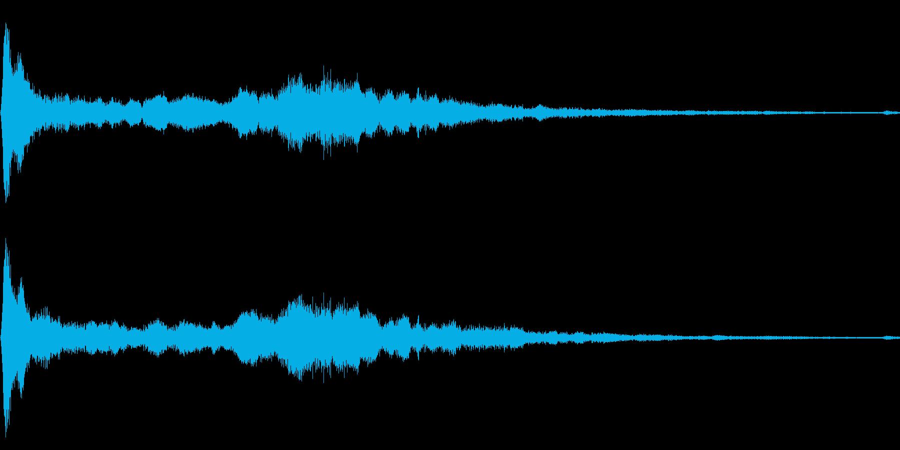 シニーインパクト、リングアウト、ハ...の再生済みの波形