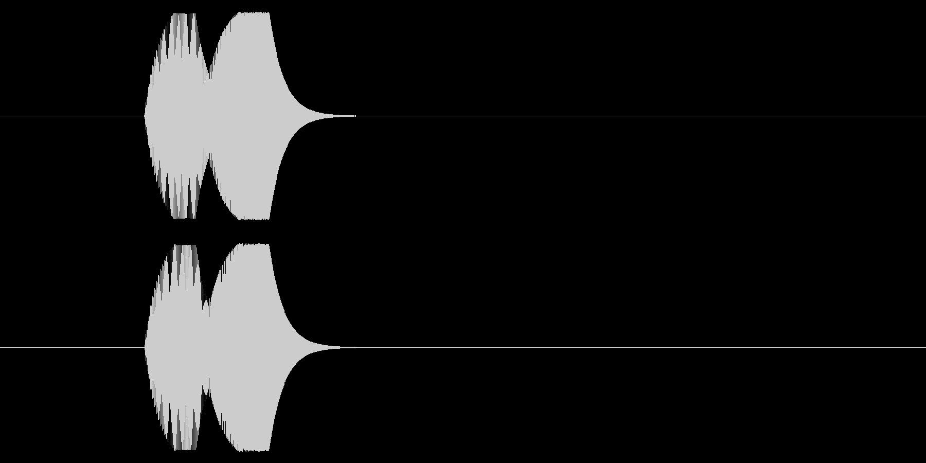 ピコン②(RPG・バトル・カーソル選択)の未再生の波形