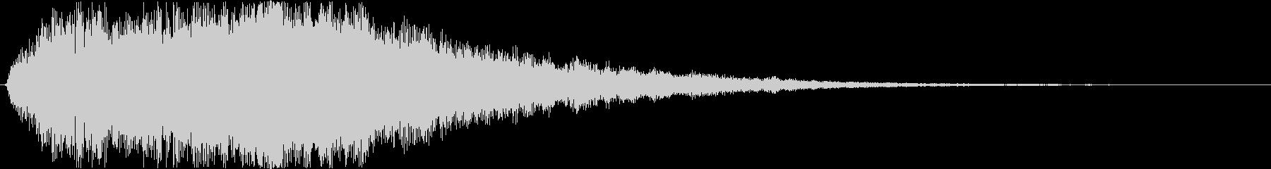 シンプルなファンタスティックOPジングルの未再生の波形