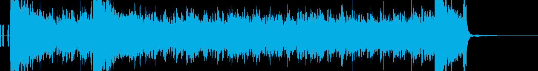 くせになる耳に残るしっくりこないBGMの再生済みの波形
