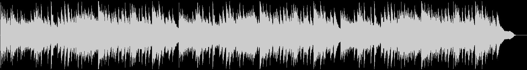 「ふるさと」 ピアノ伴奏の未再生の波形