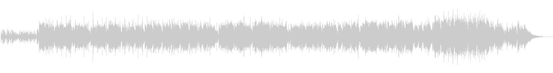 和楽器を取り入れたバラード曲の未再生の波形