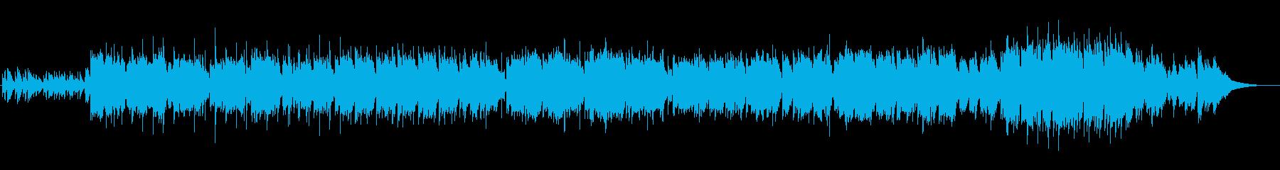 和楽器を取り入れたバラード曲の再生済みの波形