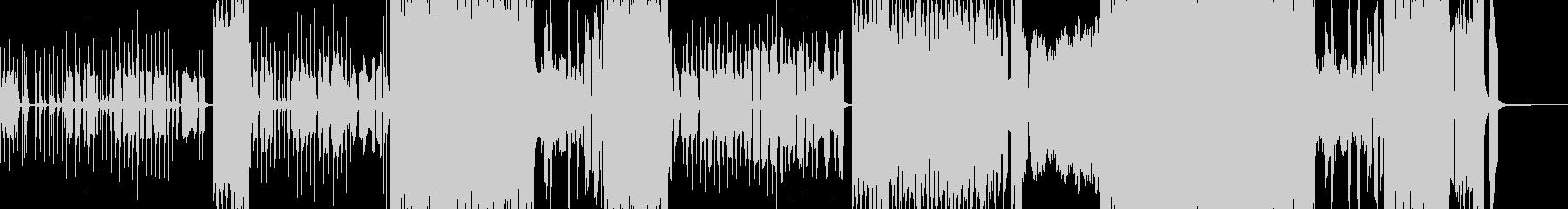 ゆめかわメルヘンなカントリーロックの未再生の波形