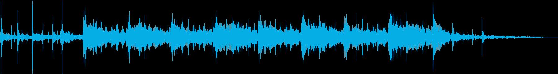 ドラマティックラテンギターアクセン...の再生済みの波形