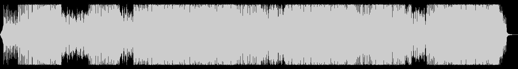 キラキラ切ないエレクトロの未再生の波形