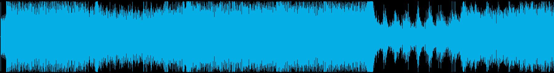 ゲーム・テクノトランス系のバトルEDM曲の再生済みの波形