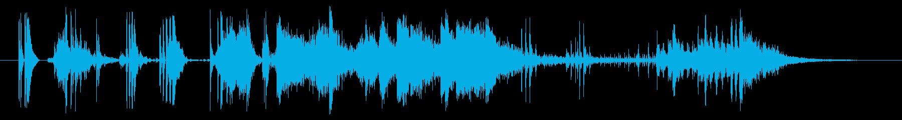 フィクション ロボット トランスフ...の再生済みの波形