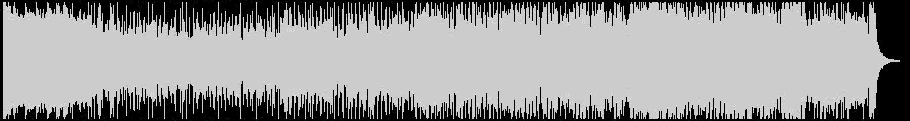 アニメやゲームのOP風 キャッチーな曲の未再生の波形