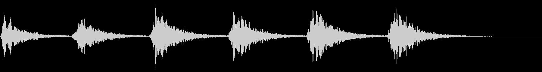 上方掃引の叫び:ホーンテッドジャン...の未再生の波形