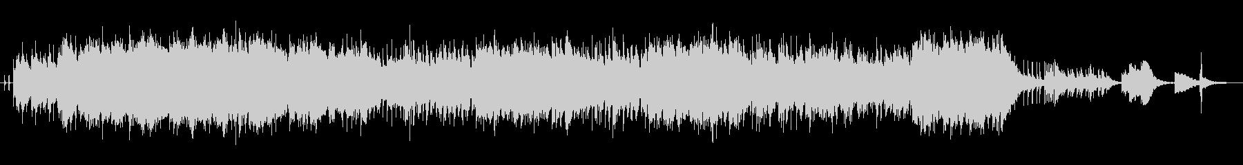 おしゃれなサックスソロのジャズの未再生の波形