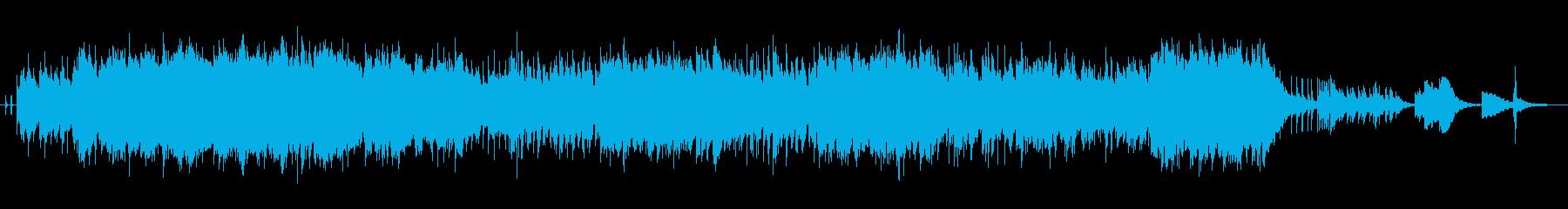 おしゃれなサックスソロのジャズの再生済みの波形