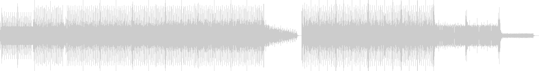 低音リズムが特徴的なシックなサウンドの未再生の波形