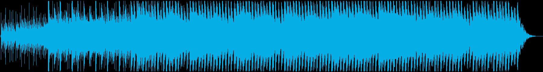 アンビエント アクティブ 明るい ...の再生済みの波形