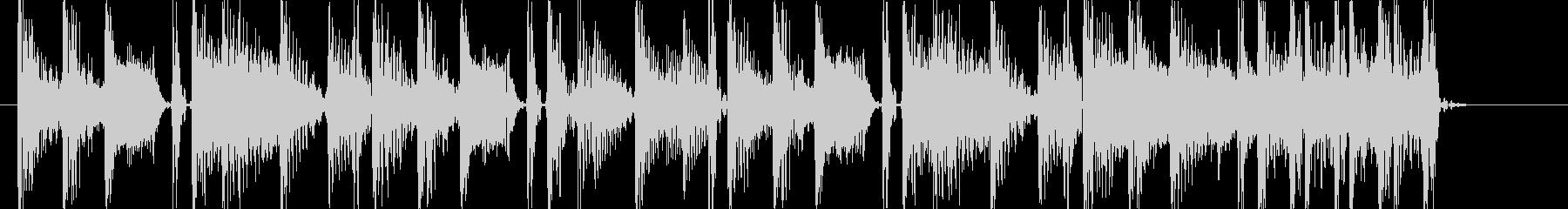ローファイヒップホップなアイキャッチの未再生の波形