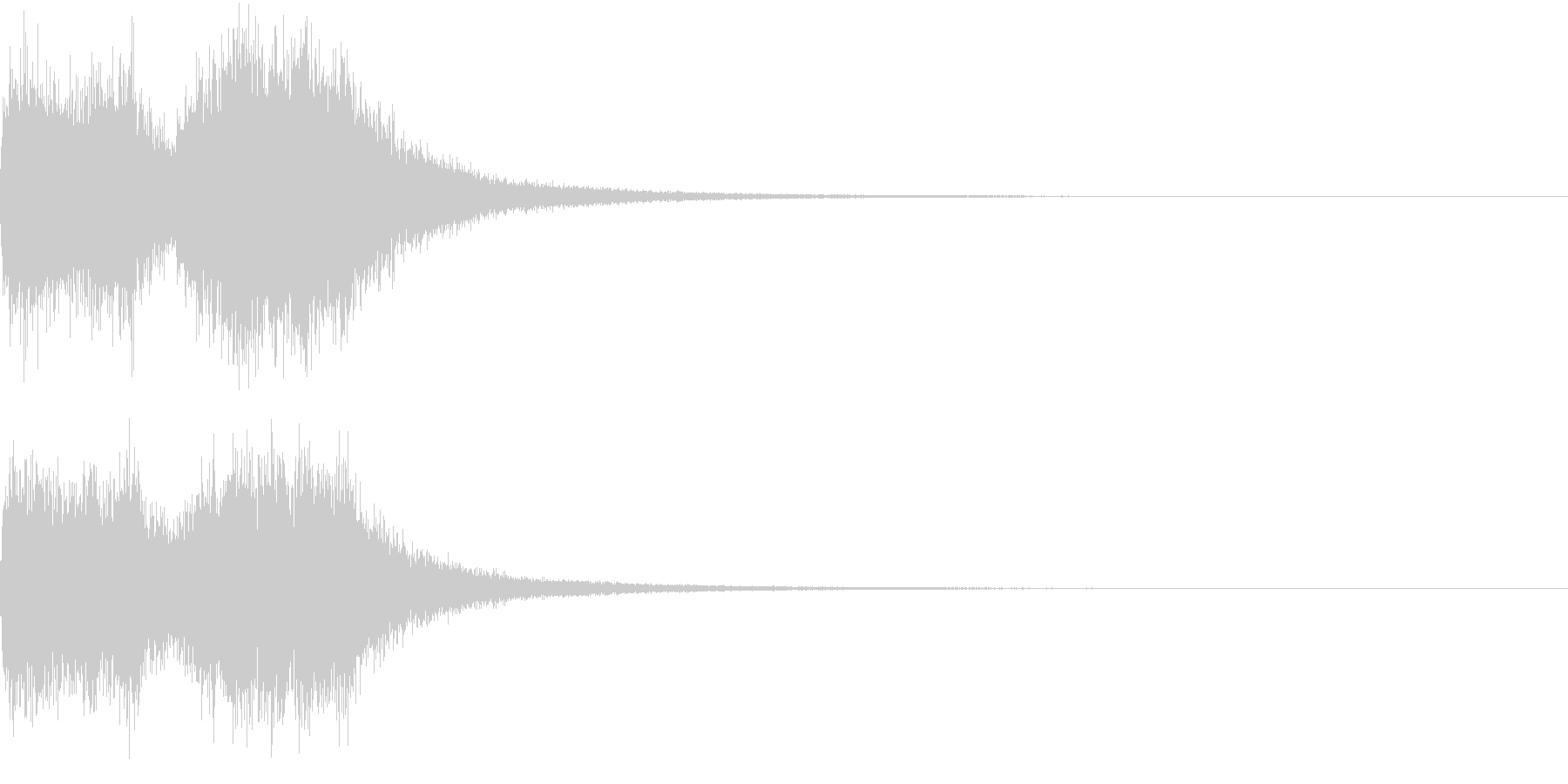 ファンファーレ オーケストラ 豪華 3の未再生の波形