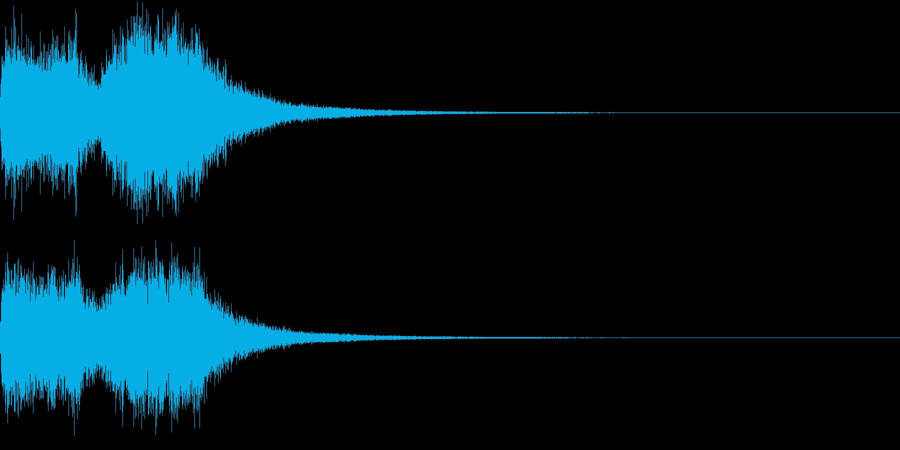 ファンファーレ オーケストラ 豪華 3の再生済みの波形