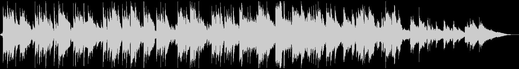 牧歌的なアコギソロ【波の音&蝉の声入り】の未再生の波形