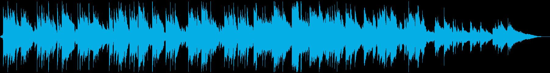 牧歌的なアコギソロ【波の音&蝉の声入り】の再生済みの波形