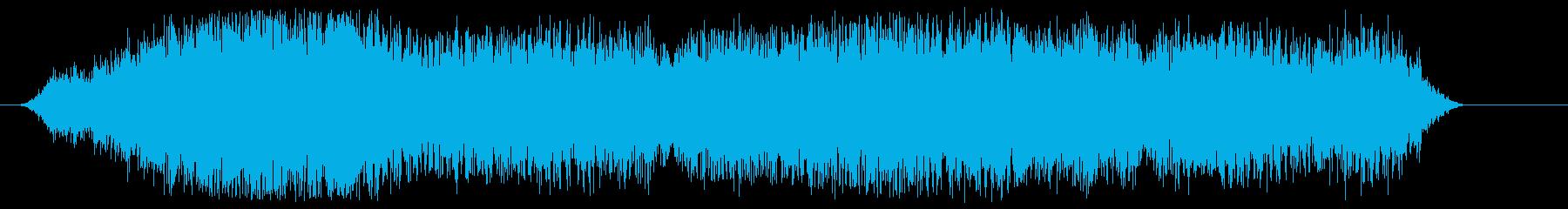 水でジェットコースターの再生済みの波形