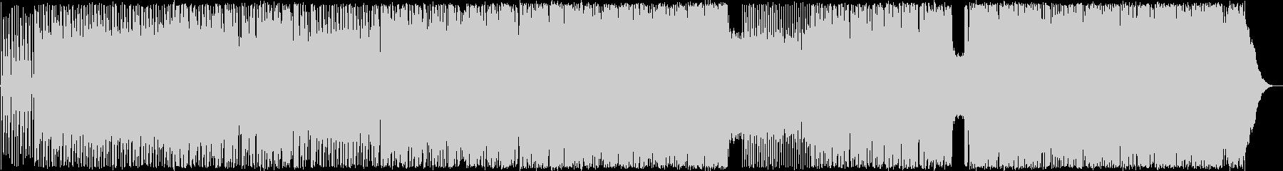 キレのあるリズムと展開のあるギターロックの未再生の波形