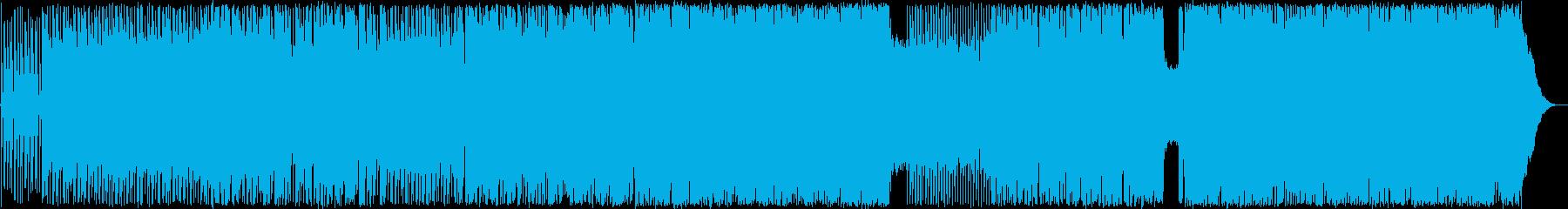 キレのあるリズムと展開のあるギターロックの再生済みの波形