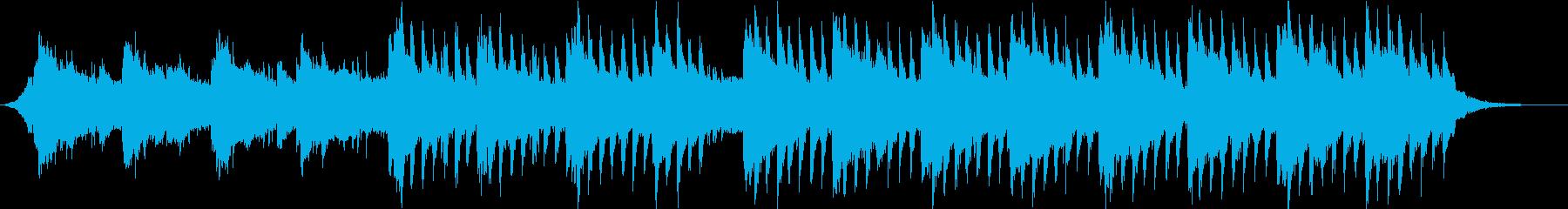 綺麗・美しい・幻想的おしゃれトロピカル③の再生済みの波形