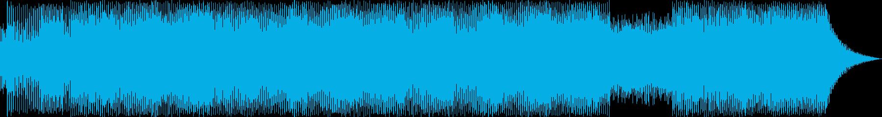 ハウスランニングの再生済みの波形