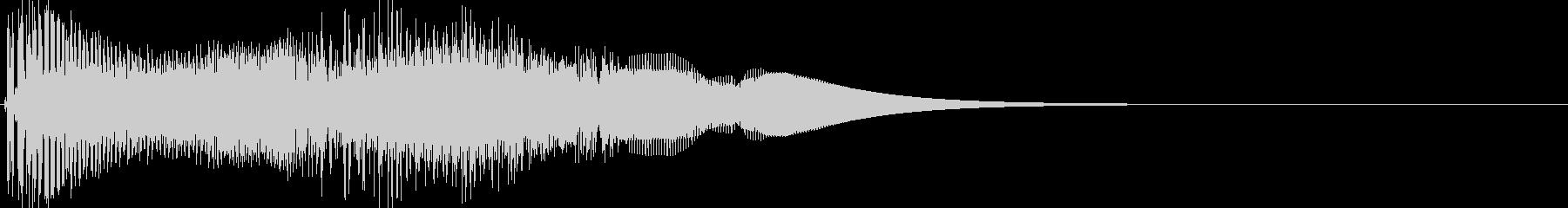 ゲーム系カーソル選択音02 (進む)の未再生の波形