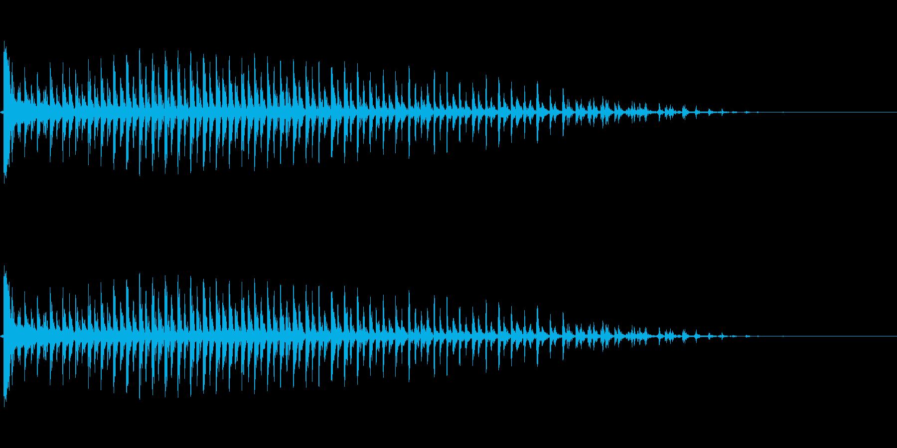 ビブラスラップ(カーッ!)の再生済みの波形