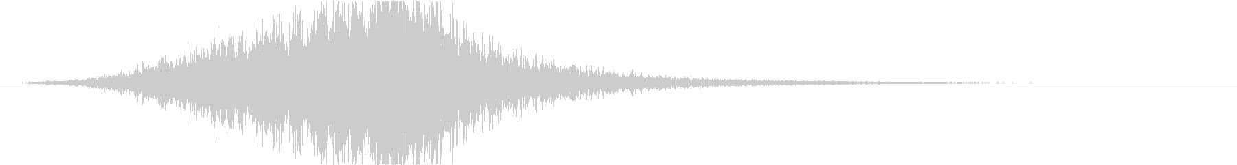 ヘアードライヤー:空気騒音の機械旋風。の未再生の波形