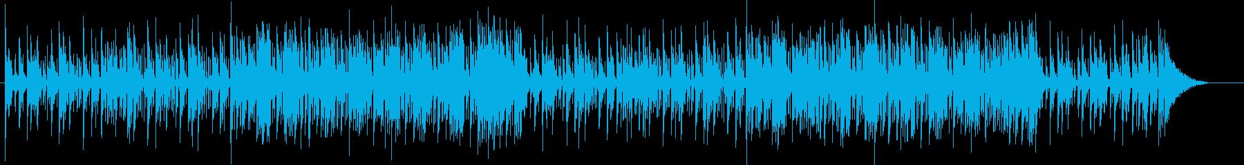 ライトな感じのエレクトロ・ドラムンベースの再生済みの波形