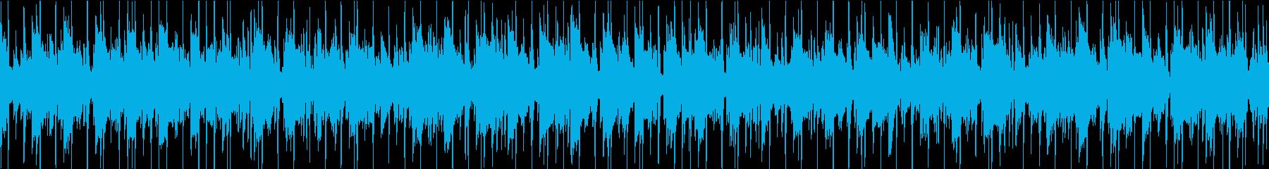 スロージャズギターの再生済みの波形
