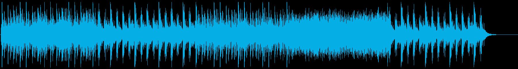 森-霧-村-夕暮-ドローン-和-旅-PVの再生済みの波形
