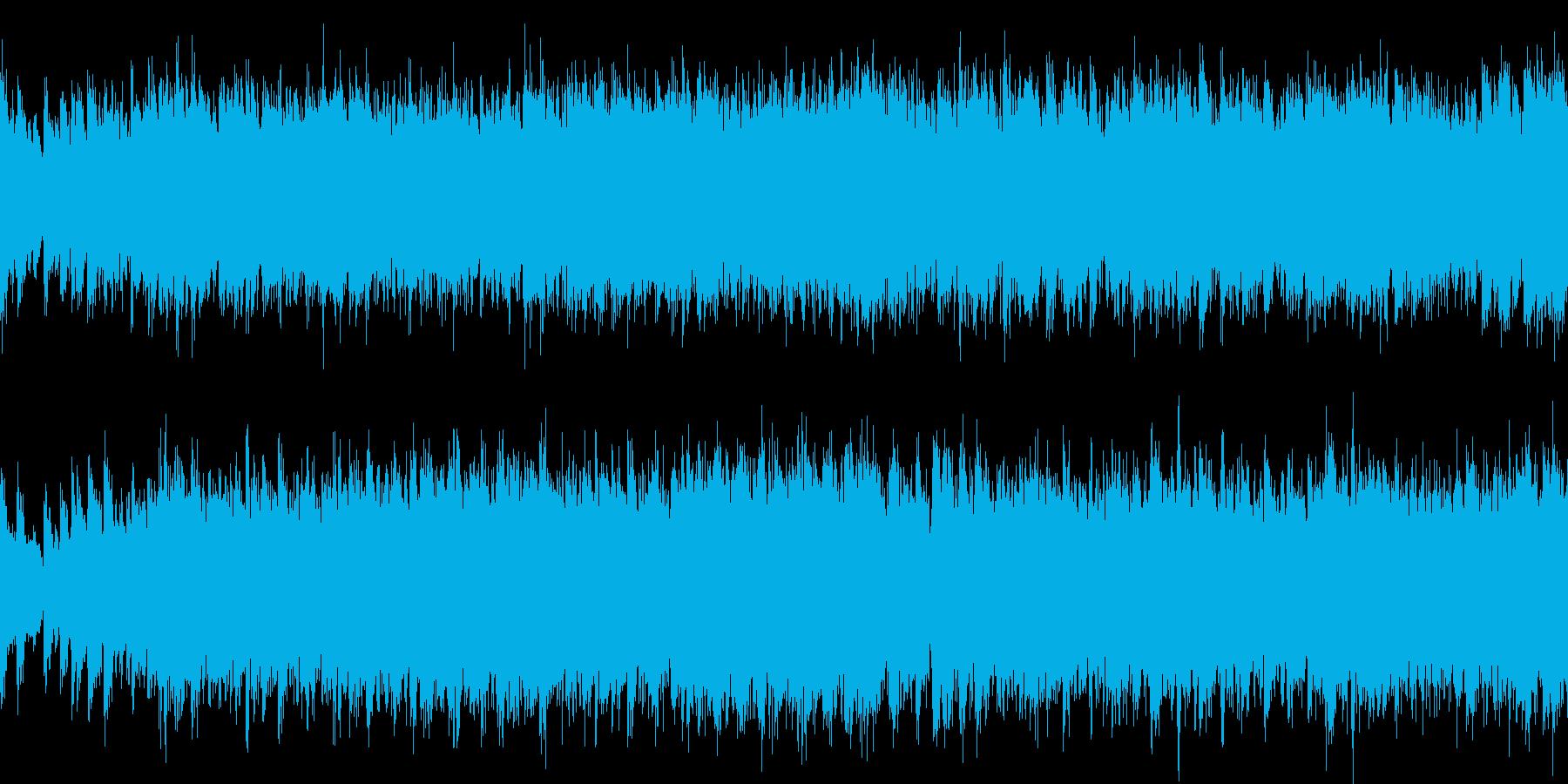 戦闘曲に使えそうなオーケストラの再生済みの波形