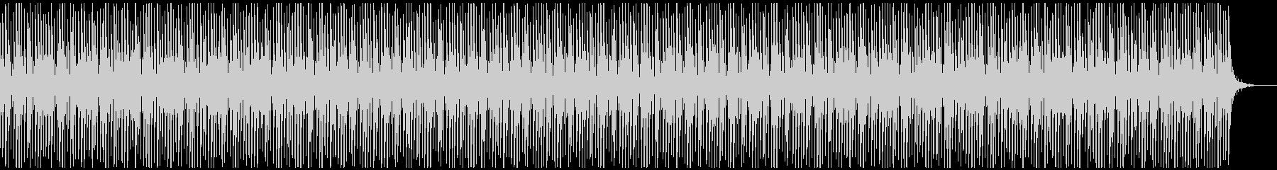 [ニュース報道]無機質:フラット:10の未再生の波形