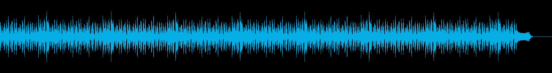 日常系BGMaの再生済みの波形