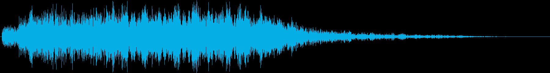 ウゥー…(心霊・魂・怨霊)の再生済みの波形