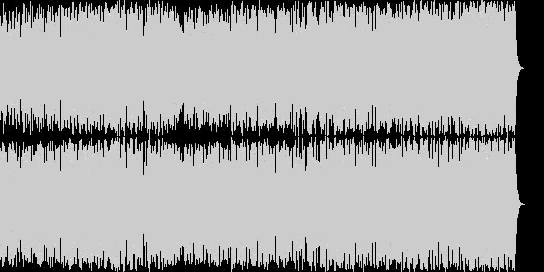 ポップでキャッチーなボイスEDMハウスの未再生の波形