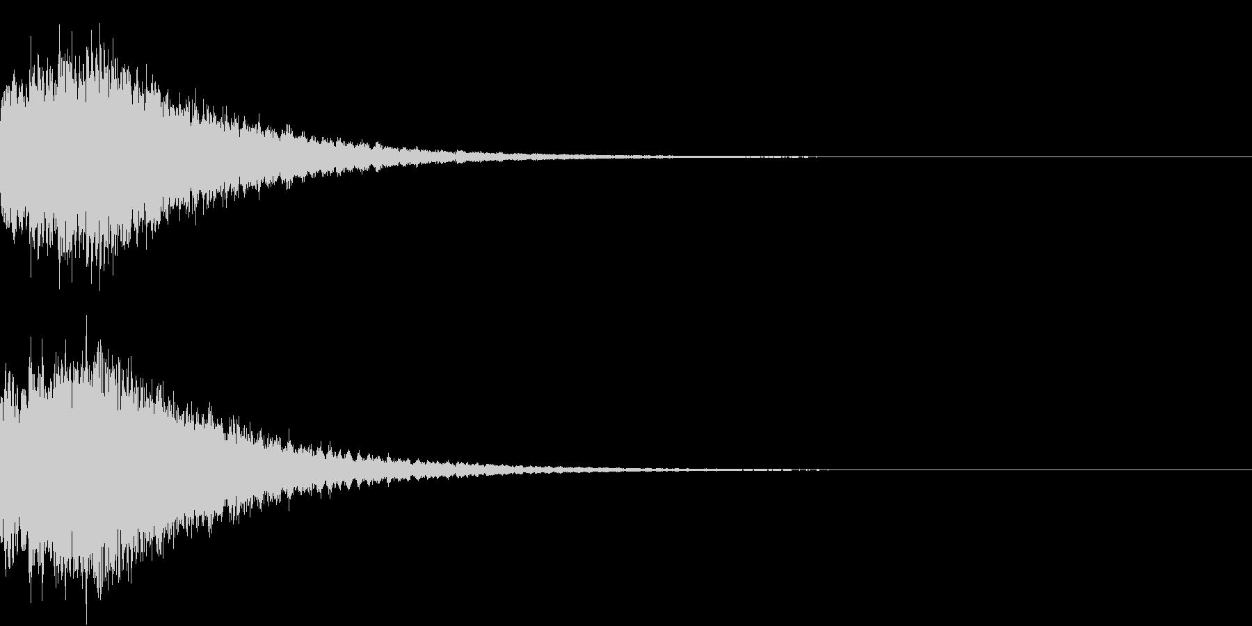 DigitalCoin 電子決済音 1 の未再生の波形