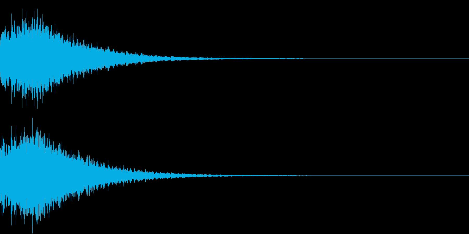 DigitalCoin 電子決済音 1 の再生済みの波形