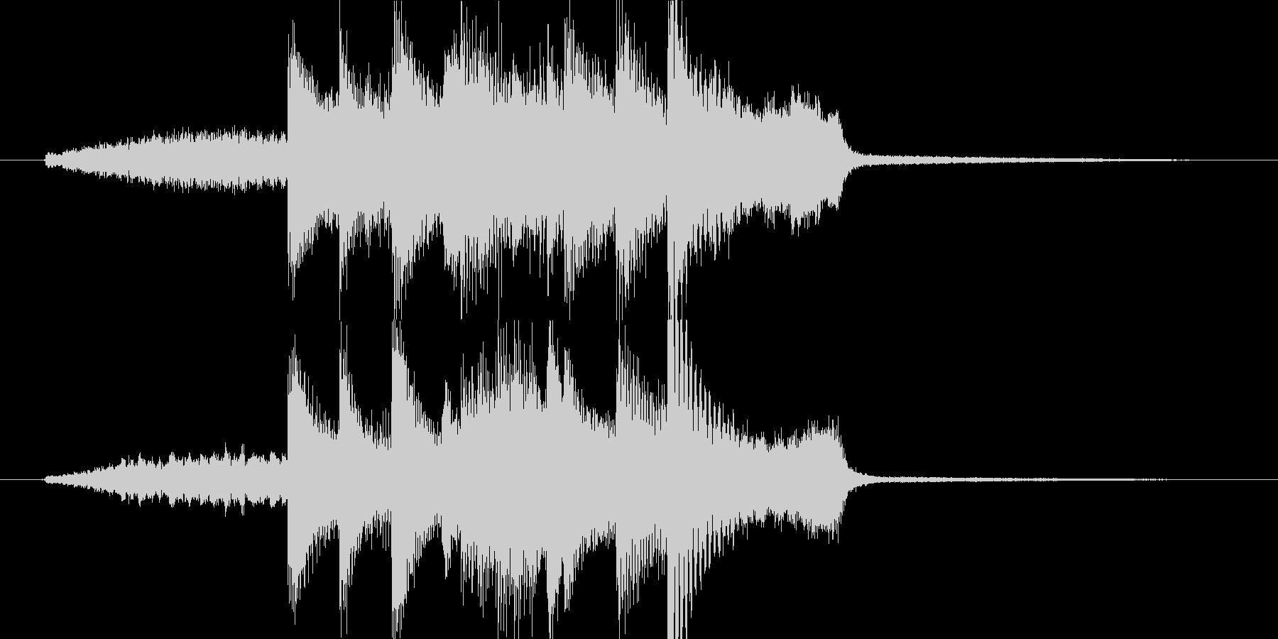 高音質ピアノ都会的ジングルスタイリッシュの未再生の波形
