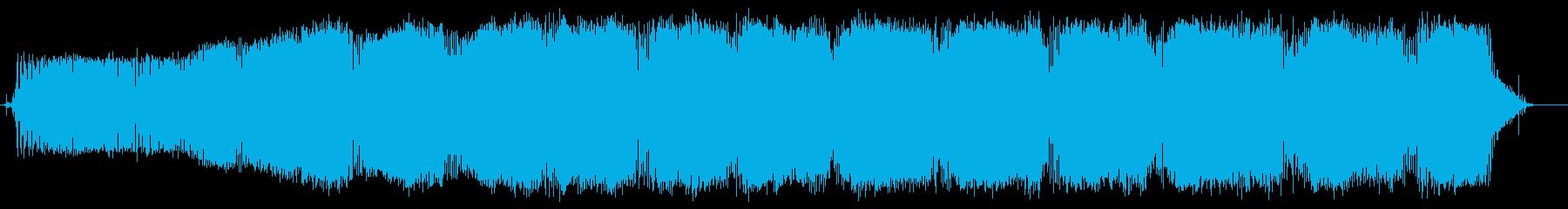 船外機(起動、運転、停止)の再生済みの波形