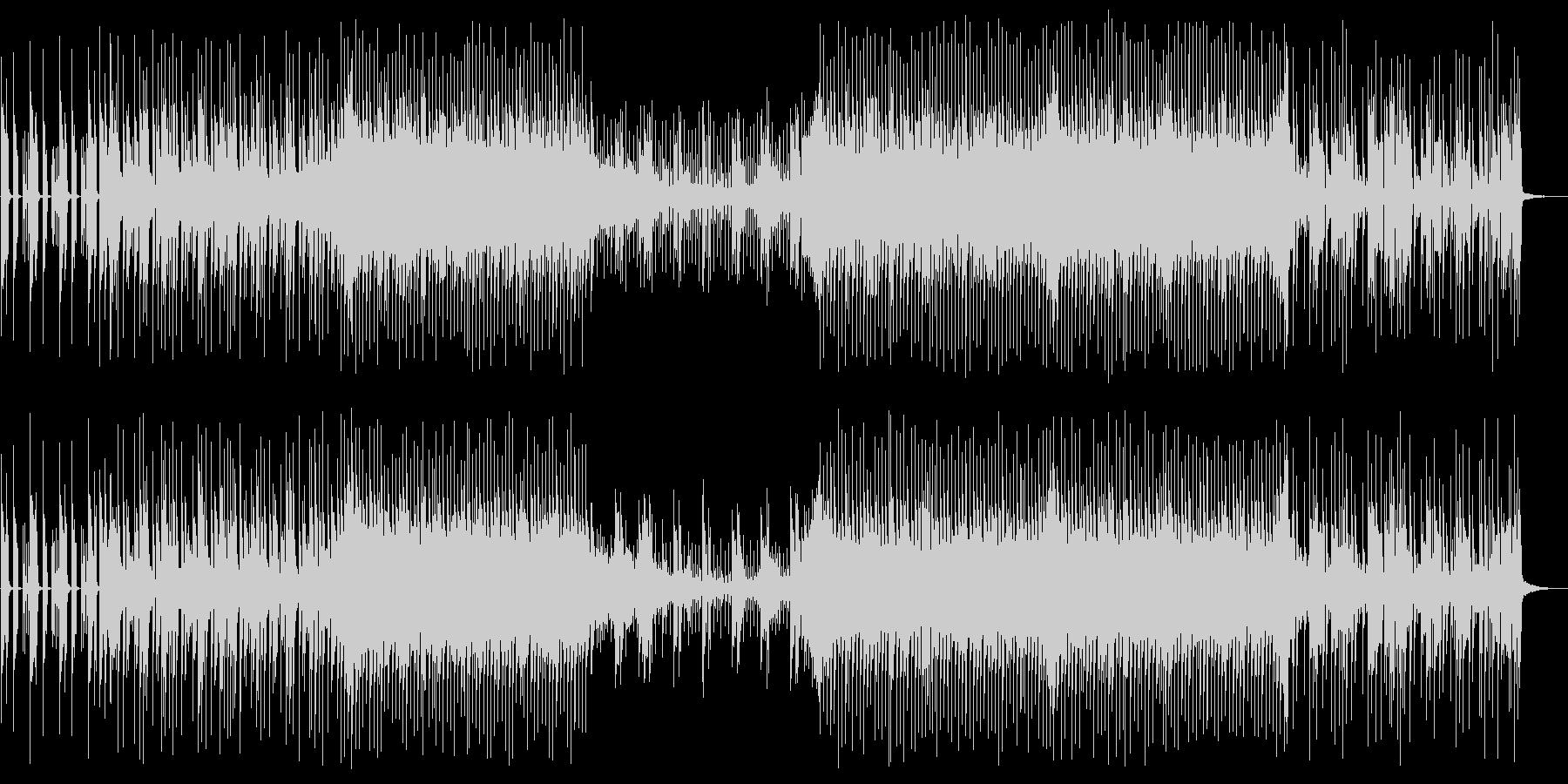ピアノとエレクトロニカ VoxOffの未再生の波形