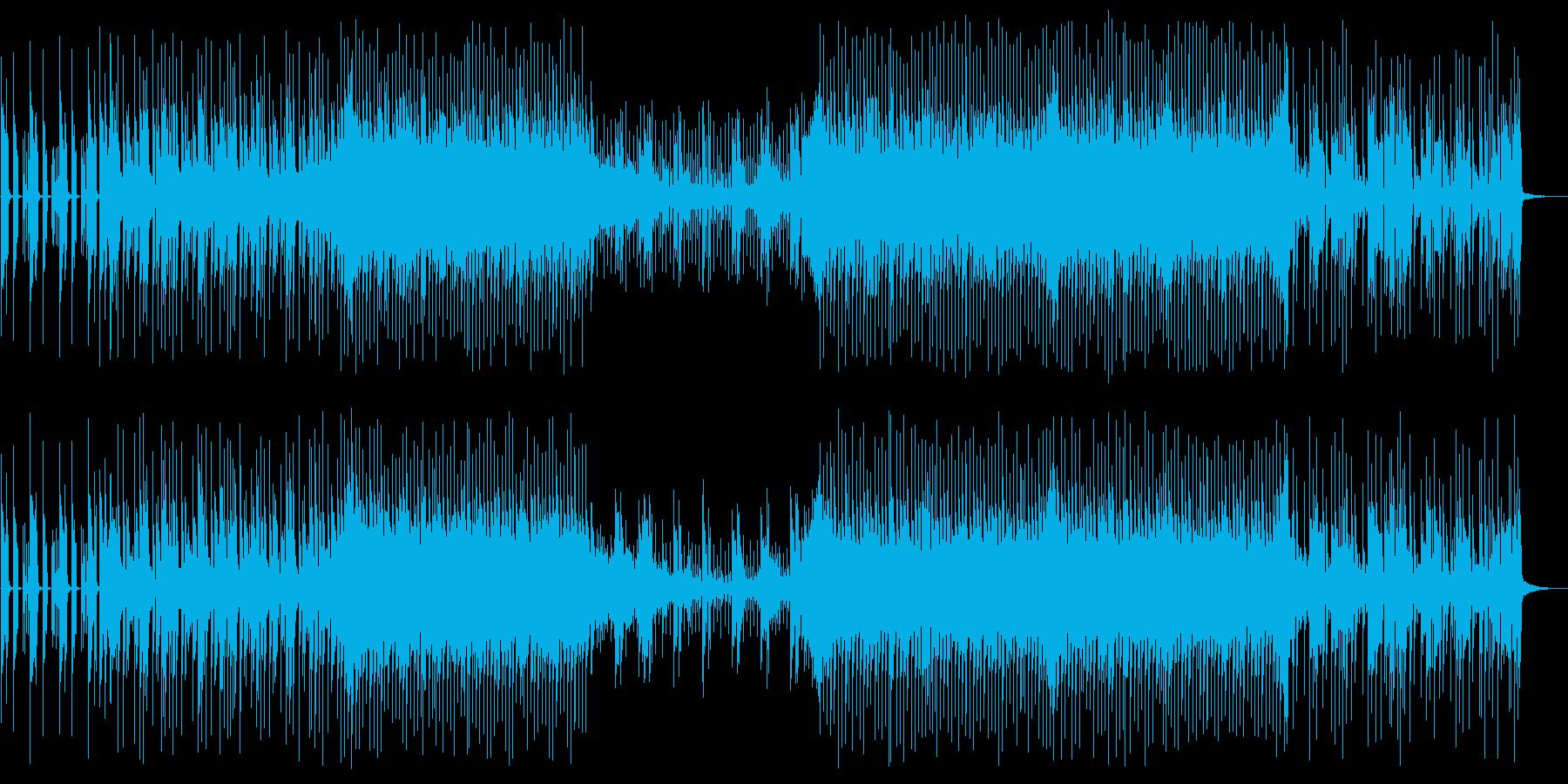 ピアノとエレクトロニカ VoxOffの再生済みの波形