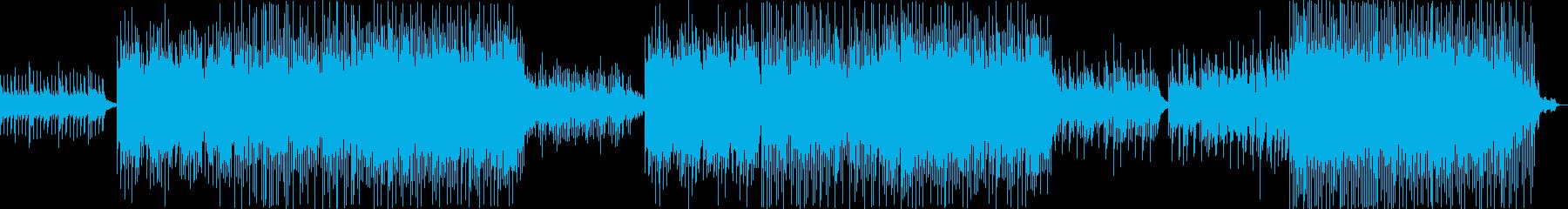 哀愁漂う美的な旋律のノスタルジックな曲の再生済みの波形