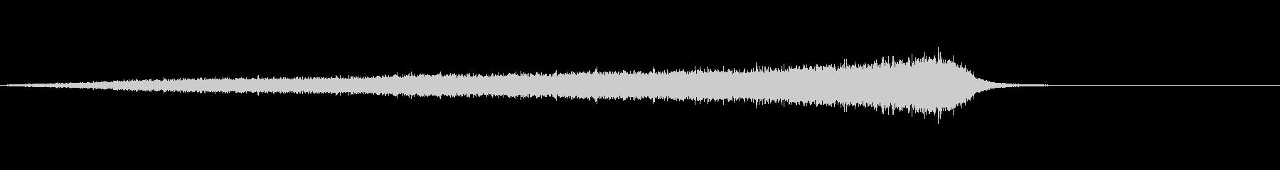 ホラー系効果音20の未再生の波形